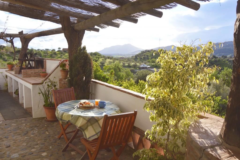 Bijzonder overnachten in Andalusië (in de bergen bij Malaga)