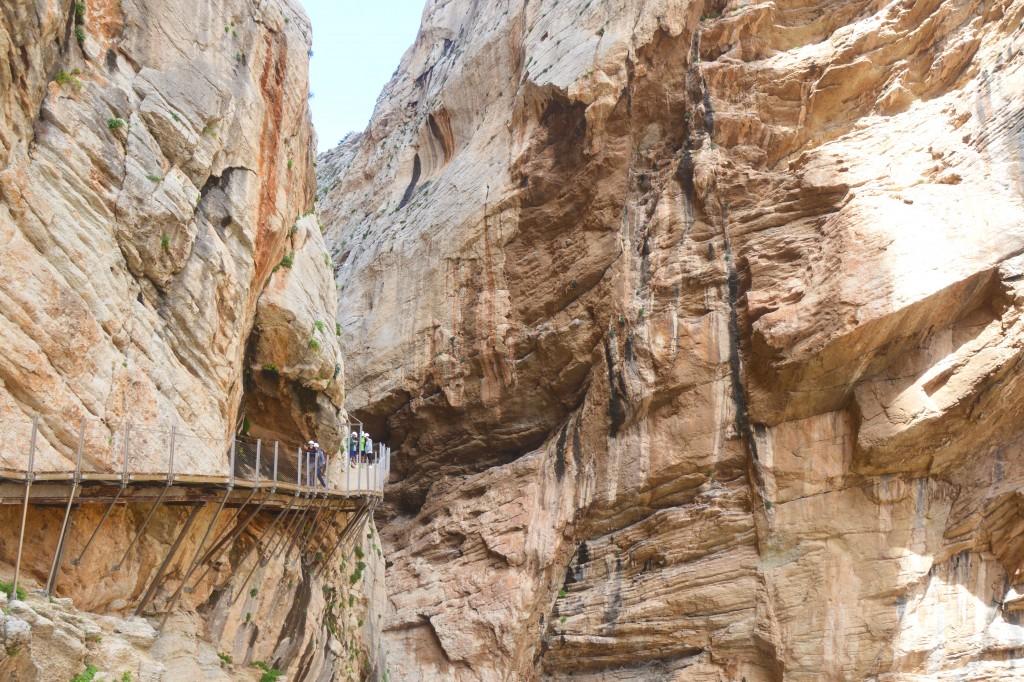 Bewandel de Caminito Del Rey, de gevaarlijkste route van Spanje