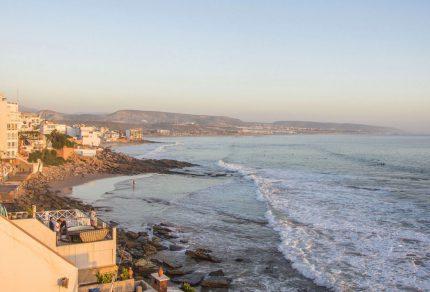 Yoga en surfen in Taghazout, Marokko