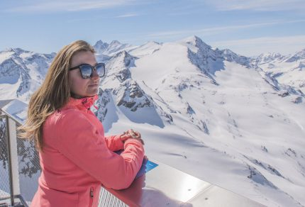 Lente skiën in Kaprun, het dak van SalzburgerLand