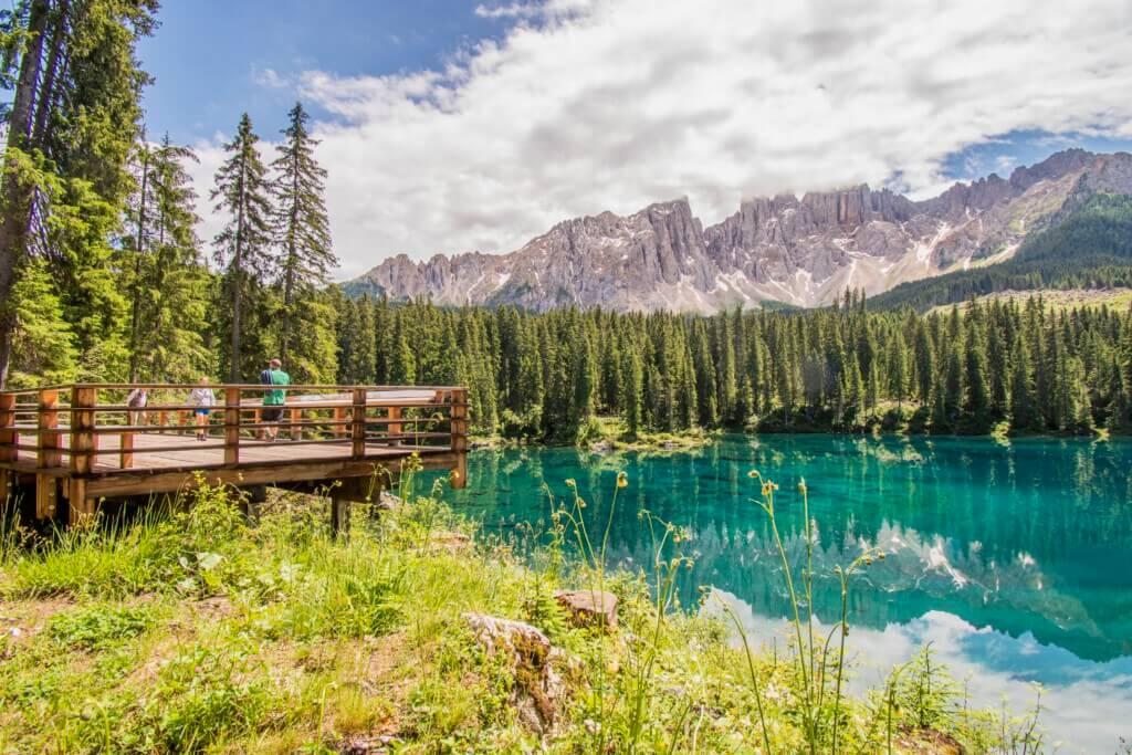 carezza-lake-mooiste-meer-in-de-dolomieten